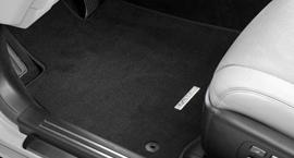 Коврики салона велюровые-текстиль для GX460 (черн.)