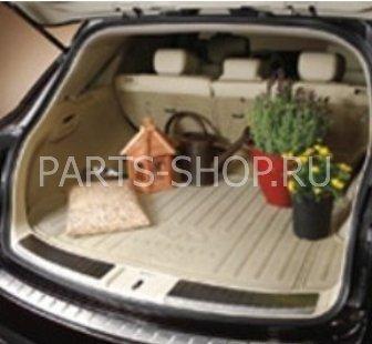 Коврик багажника резиновый Infiniti FX35 FX37 FX50 (черн., беж.)
