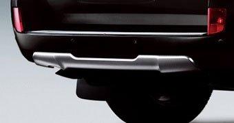 Обвес Luxury на задний бампер LC200 2012