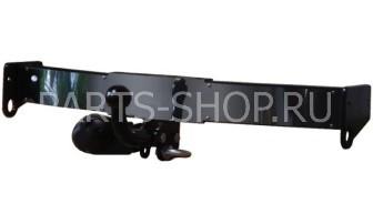 Фаркоп (ТСУ) LX470 широкий, оцинкованный с пластиной из нержавейки