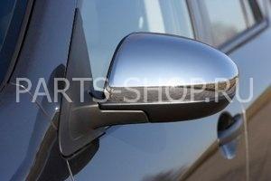 Накладки на зеркала хромированные Mazda 3