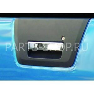 Накладка на ручки двери багажника Navara нерж.