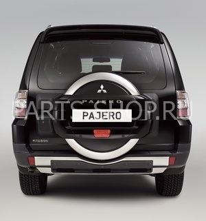 Чехол запасного колеса для Pajero 2011-
