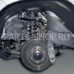 Защита колесных арок RAV4 (комплект)