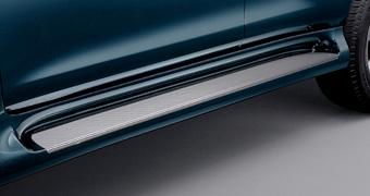 Подножки AeroStep (окрашенные в цвет авто) LC150 в стиле GX460
