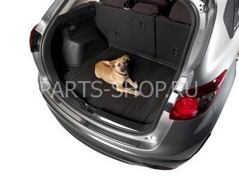Резиновый коврик багажника (черн.) на Mazda CX-5