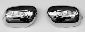 Хромированные накладки на боковые зеркала с повторителями поворотов ACV30