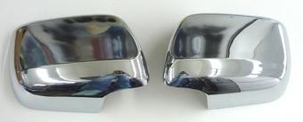 Накладки на зеркала LC200 хром