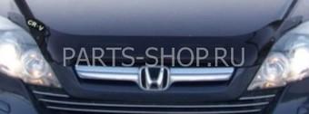 Дефлектор капота  с надписью Honda CR-V