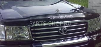 Дефлектор капота Toyota LC 100 EGR (с надписью)