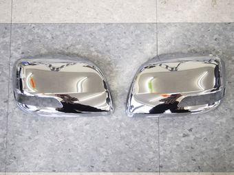 Корпуса зеркал хром, с вырезом под повторитель lc150/lc200