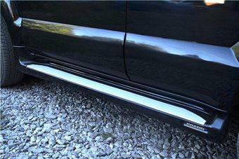 Подножки AeroStep LC120 (чёные, белые, золото либо под покраску)