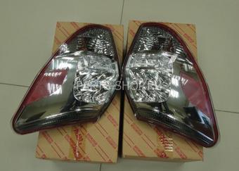 Фонари задние для RAV4 прозрачные, диодные (комплект)