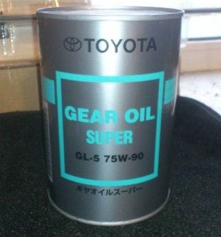 Масло трансмиссионное Gear Oil 75W90, GL5 1L