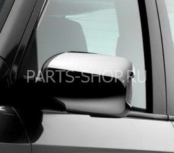 Хромированные накладки боковых зеркал Honda Pilot