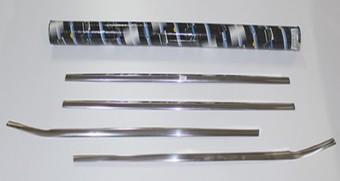 Молдинги стекол BMW X6 09-