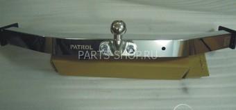 Фаркоп с двойной нерж. пластиной Patrol