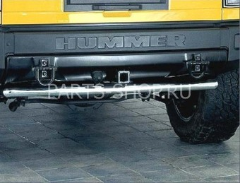 Защита заднего бампера Hummer H2