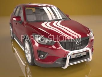 Защита передняя с перемычкой Mazda CX-5