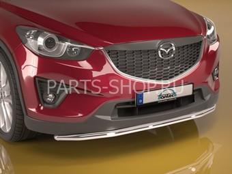 Защита переднего бампера одинарная Mazda CX-5