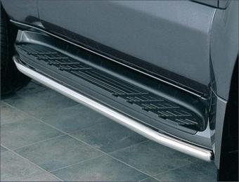 Защита штатного порога LC120 (для 3-х или 5-ти дверной машины)