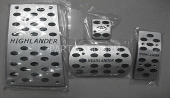 Накладки на педали Highlander