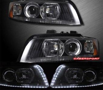Фары 2002-2004 AUDI A4 (комплект)