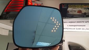Зеркальный элемент с подогревом и со встроенным индикатором поворота