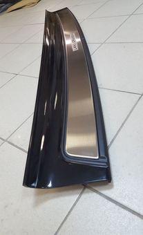 Накладка на задний бампер LC200/LX570 вместо штатной (белая, черная либо под покраску)