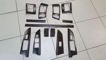 Накладки салона LC200 под дерево (12 предметов)