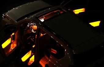 Подсветка в двери prado lc150, 3 цвета