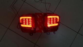 Задние светодиодные туманки lc200 2016