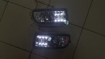 Противотуманные фары светодиодные на LC100 (комплект)