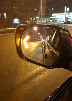 Зеркальные элементы на боковые зеркала с подогревом и диодными поворотными стрелками LX570