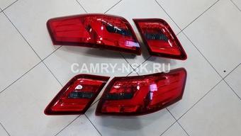 Фонари задние Camry40 стиль BMW