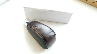 Ручка на рычаг переключения передач АКПП LC200 (тёмное дерево+кожа)