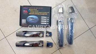 Накладки на ручки дверей LC200, LX570