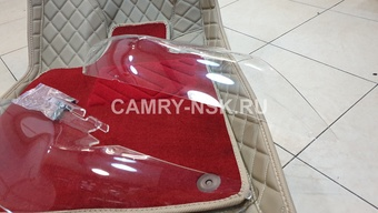 Защита фар Camry v45 2009-11 прозрачная