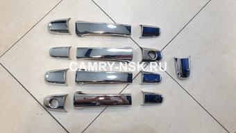 Накладки на ручки хром rx300, harrier 98-03