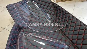 Защита фар прозрачная prado 150 09-14