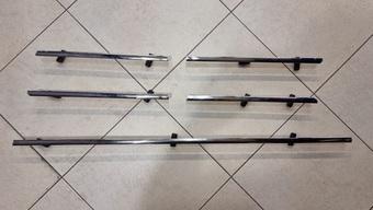 Вставки в решетку радиатора из нерж. (5 частей)