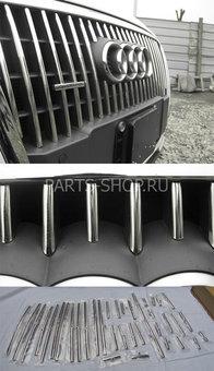 Хромированные накладки на решетку радиатора Audi Q5
