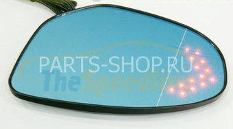 Комплект модулей зеркал со светодиодами на Mazda 3 2009-