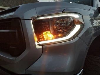 Tundra 2013 переделка с LED фарами