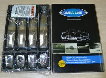 Накладки на ручки opel mokka из нерж.