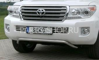 Защита переднего бампера 50 мм для LC200 2012-