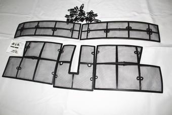Защитные сетки радиатора Highlander 2014-2016