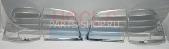 Накладки на задние фонари LX570 хром