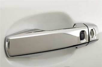 Комплект ручек дверей LC200 хром, с 4-мя кнопками
