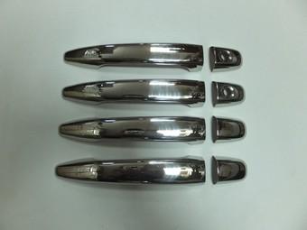 Накладки на дверные ручки RX330-400h/Harrier 03-09 нерж. (комплект)